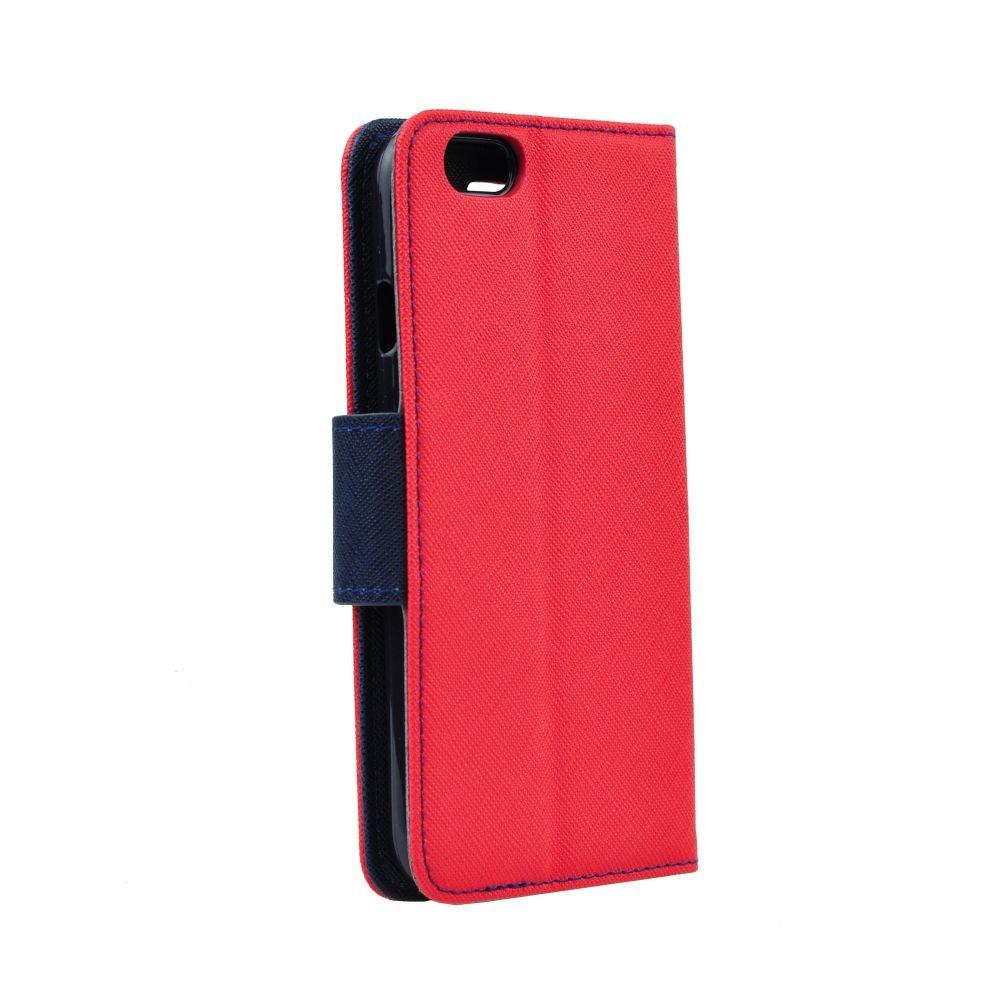 Puzdro Fancy Book Červeno-modré – LG K10 2018 (LG K11)  8e1a4dc3102