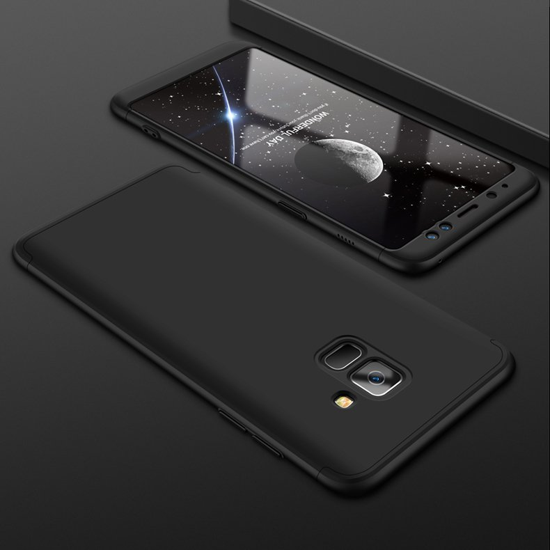 Puzdro 360 Protection čierne – Samsung Galaxy A8 2018  1e685f9b86f