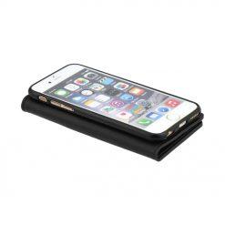 Knižkové puzdro Magnet Book čierne – iPhone 6 6S  91e0cc078ee