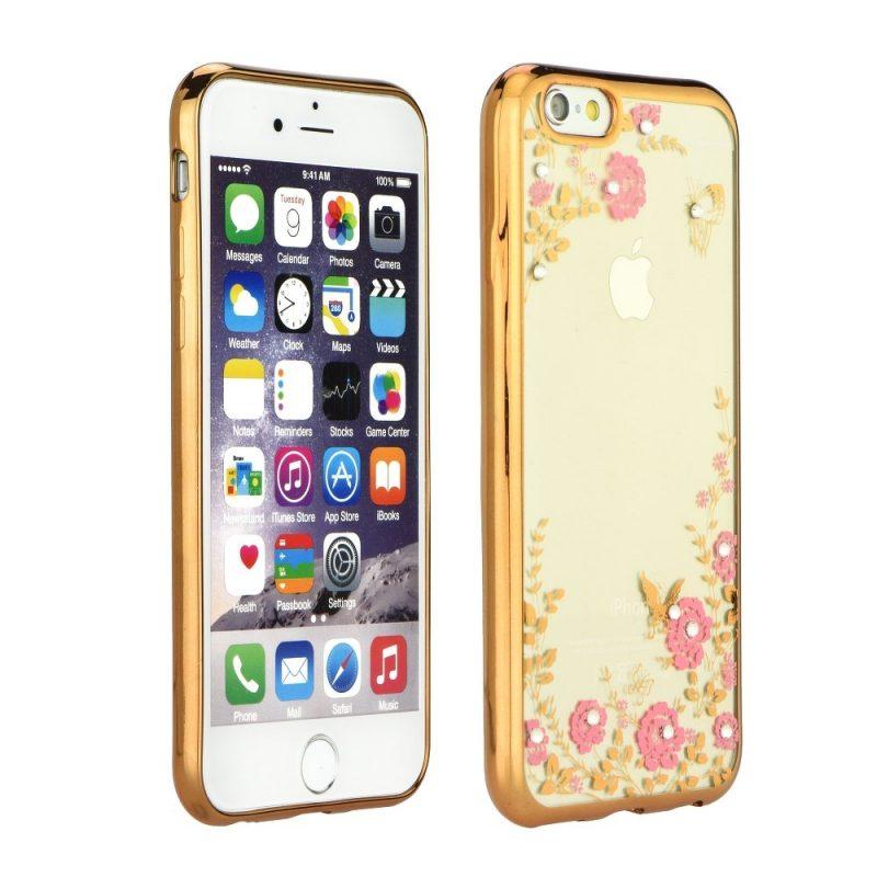 Zadný kryt Forcell Diamond zlatý – iPhone 5 5S SE  d952cafd587
