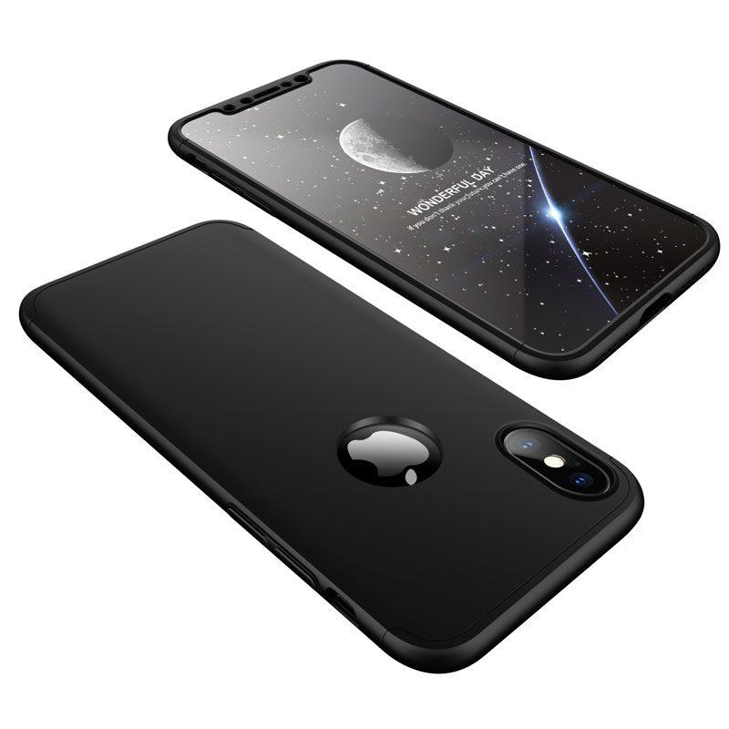 Puzdro 360 Protection čierne – iPhone X   XS  0de02176eb3