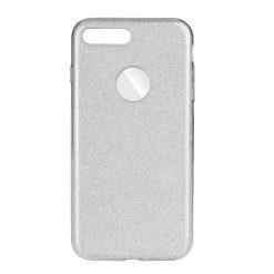 Ligotavý Kryt Forcell Shining strieborný – iPhone 7 Plus   8 Plus ... 12d191d9a22